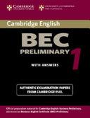 Cambridge BEC Preliminary 1
