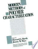 Modern Methods of Polymer Characterization Book