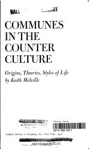 Communes in the Counter Culture
