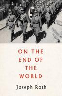 On the End of the World [Pdf/ePub] eBook