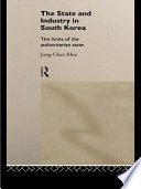 The State and Industry in South Korea Book