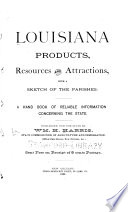 Louisiana Products  Resources  and Attractions Book