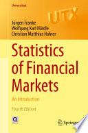 Statistics of Financial Markets Book