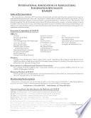 Bulletin Trimestriel de L'Association Internationale Des Spécialistes de L'information Agricole