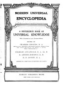 Modern Universal Encyclopedia ebook