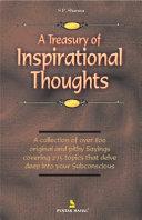 A Treasury Of Inspirational Thoughts Pdf/ePub eBook