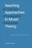 Teaching Approaches in Music Theory