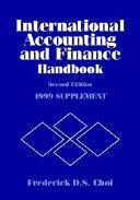 International Accounting And Finance Handbook Book PDF