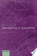 Persistence And Spacetime Book PDF