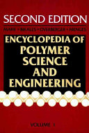 Encyclopedia of Polymer Science and Engineering  A to Amorphous Polymers