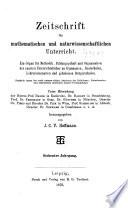 Zeitschrift für mathematischen und naturwissenschaftlichen Unterricht