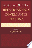 State Society Relations And Governance In China