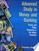 Advanced Study In Money And Banking Book