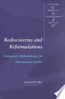 Rediscoveries and Reformulations Book