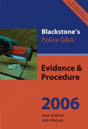 Evidence and Procedure 2005