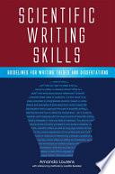 Scientific Writing Skills