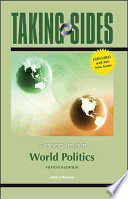 Taking Sides: Clashing Views in World Politics, Expanded