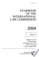 Yearbook of the International Law Commission