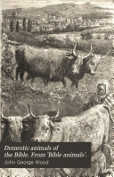 Domestic Animals of the Bible