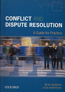 Conflict and Dispute Resolution