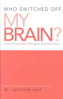 Who Switched Off My Brain  Book