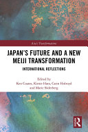 Japan s Future and a New Meiji Transformation