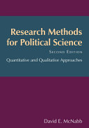 Research Methods for Political Science Pdf/ePub eBook