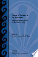 Toward A Theology Of The Septuagint