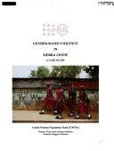 Gender Based Violence In Sierra Leone