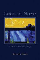 Less is More [Pdf/ePub] eBook
