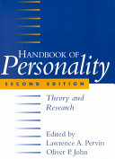 Handbook of Personality  Second Edition Book