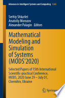 Mathematical Modeling and Simulation of Systems  MODS 2020