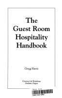 The Guest Room Hospitality Handbook