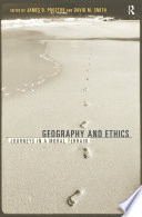 Geography And Ethics Book