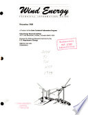 Wind Energy Technical Information Guide