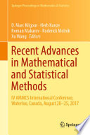 Recent Advances in Mathematical and Statistical Methods Book