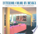 Interior Color By Design Book PDF