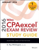 Wiley CPAexcel Exam Review 2016 Study Guide January