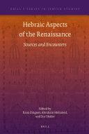 Hebraic Aspects of the Renaissance