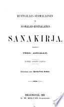 Ruotsalais-suomalainen ja suomalais-ruotsalainen sanakirja