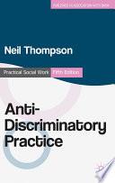 Anti Discriminatory Practice Book