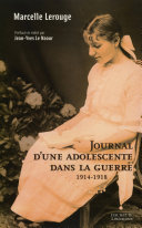 Journal d'une adolescente dans la guerre 1914-1918
