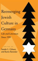Reemerging Jewish Culture in Germany