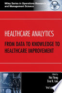 Healthcare Analytics Book PDF