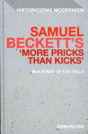 Samuel Beckett s  More Pricks Than Kicks