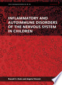 Inflammatory And Autoimmune Disorders Of The Nervous System In Children Book PDF
