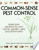 Common-sense Pest Control