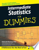 """Intermediate Statistics For Dummies"" by Deborah J. Rumsey"