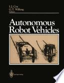 Autonomous Robot Vehicles Book PDF
