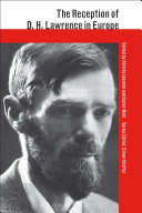 The Reception of D  H  Lawrence in Europe